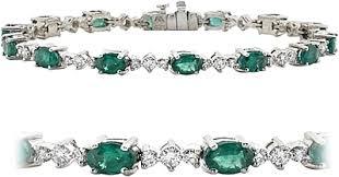 emerald bracelet white gold images 18k white gold 7 80ctw diamond emerald bracelet scsb94se png