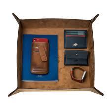 Desk Organizer Leather Leather Desk Organizer Valet Distressed Antique Coffee 11 X
