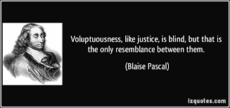 Justice Is Blind Voluptuousness Like Justice Is Blind But That Is The Only