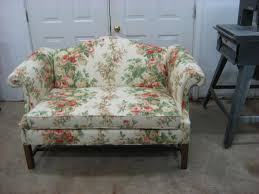 Chippendale Sofa Slipcover by Restored Furniture