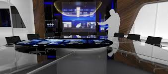 Interactive Meeting Table Interactive Conference Table Commercial Advertising Space