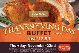 thanksgiving golden corral gentlemint