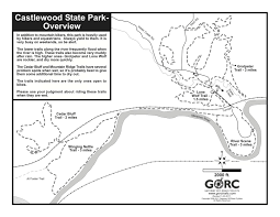 Colorado Bend State Park Map by Do It In The Dirt With Alpine Shop