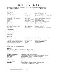 film resume format resume reference template resume templates and