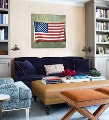 American Flag Living Room by Old Glory American Flag Art Print Darren Gygi Home Collection