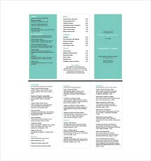 customizable menu templates free menu templates 24 free word pdf documents