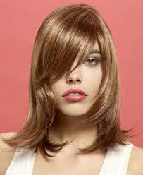 layered flip hairstyles shoulder length hairstyle with layering tapering and an outward