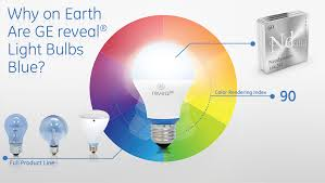 technology why ge reveal light bulbs are blue ge lighting