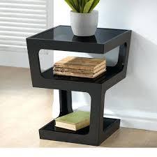 tall black bedside table tall modern nightstand tall black end table tall modern bedside