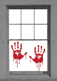 window decorations window decorations ideas to spook up your neighbors