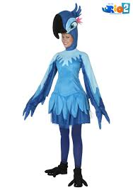 Womens Fox Halloween Costume Rio Jewel Costume