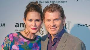 bobby flay stephanie march infidelity accusations begin to fly