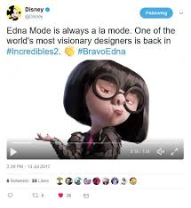 Edna Meme - edna mode confirmed to return the incredibles know your meme