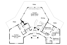 Ranch Style House Floor Plans by Spanish Style House Plans Santa Ana 11 148 Associated Designs