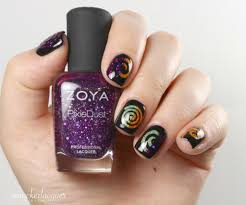40 great nail art ideas orange purple u0026 green smackerlacquer
