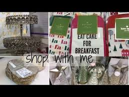 Home Goods Holiday Decor Shop With Me Glam Holiday Decor Kate Spade Homegoods Youtube