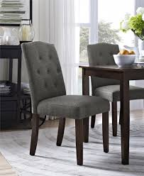 Tufted Dining Chair Dorel Living Better Homes And Gardens Parsons Tufted Dining