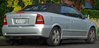 2004 holden astra convertible auto cars