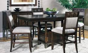 High Dining Room Sets Kemper Counter Height Dining Room Set With - Tanshire counter height dining room table price