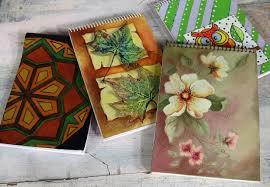 como forrar un cuaderno con tela youtube como decorar cuadernos pintar cuero pinturas para tela youtube