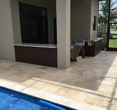 show me outdoor kitchens countertops pictures in boca raton fl