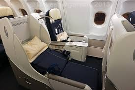 Air France Comfort Seats In Flight Review Air France Business Class A330 200 Bangalore