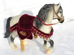 700499 jack frost 3 1999 with tack breyer holiday model horses