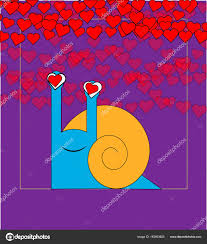 imagenes animadas sobre amor mano de vector dibujado patrón con caracoles de estilizados dibujos
