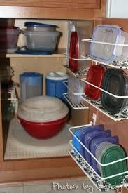Best Way To Organize Kitchen Cabinets by 25 Best Tupperware Organizing Ideas On Pinterest Tupperware