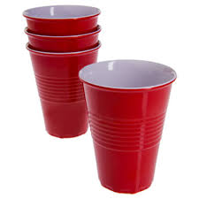 reusable plastic cups the green