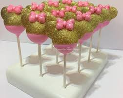 minnie cake pops etsy