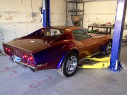 1973 corvette with ppg harlequin color changing paint yelp