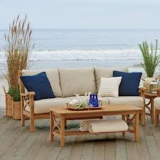 Teak Sectional Patio Furniture Teak Patio Furniture You U0027ll Love Wayfair