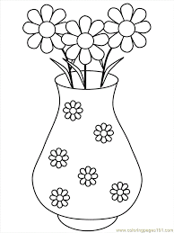 free flower pictures print coloring