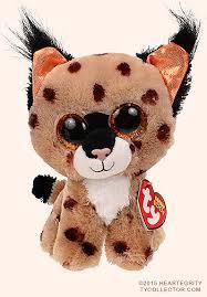 buckwheat ty beanie boos lynx