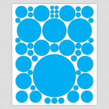 polka dot wall stickers circle wall decals simple solid dots and circle wall decals
