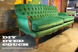 How To Clean Velvet Upholstery Diy Dyed Couch The Easiest Way To Update Old Furniture Kara