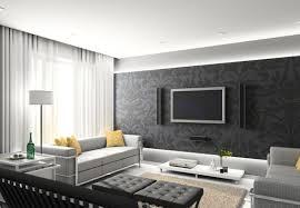 living room design with wall rift decorators