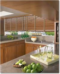 hunter douglas country woods wood blinds with artemis valance