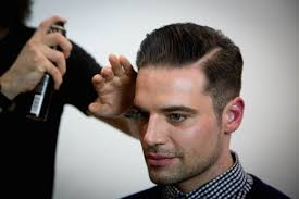haircut with weight line photo how to cut a pompadour haircut tutorial video on cutting and