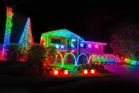 south lights on houses in america merry the