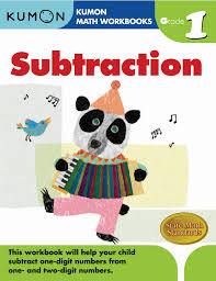 kumon publishing kumon publishing grade 1 subtraction