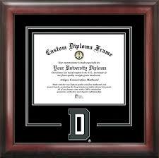 virginia tech diploma frame ncaa akron zips spirit diploma frame 8 5 x 11