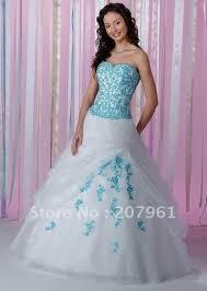 blue and white wedding dresses plus size naf dresses
