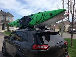 jeep kayak trailer kayak mounts anyone have them 2014 jeep cherokee forums