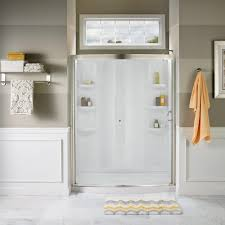 48 Shower Doors American Standard Ovation 48 In X 72 In Semi Frameless Bypass