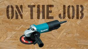 Cutting Patio Pavers On The With The Makita 9557pb Cutting Cement Patio Pavers