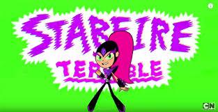 starfire terrible character teen titans wiki fandom