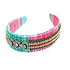 hair band designer silk thread hair band hair band likhith distributers