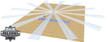 How To Hang Ceiling Drapes For Events 12 Panel Sheer Voile 40ft Ceiling Draping Kit 82 Feet Wide